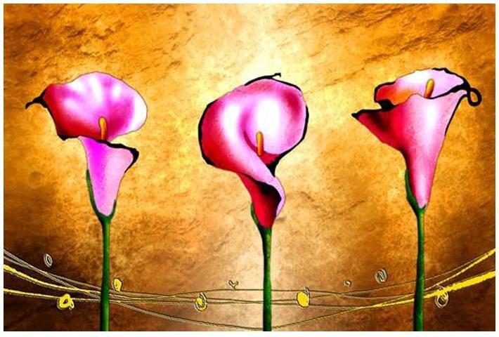 Obraz květiny 4502