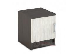 BASIA TB-551, noční stolek, wenge / dub belfort
