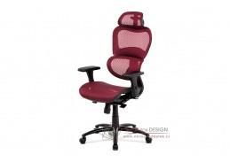 KA-A188 RED, kancelářská židle, síťovina červená