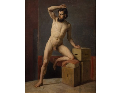 VR3-148 Gustav Klimt - Mužský akt