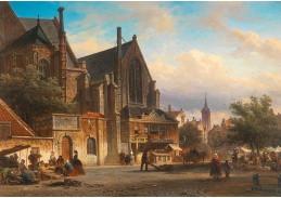 D-5845 Elias Pieter van Bommel - Městský trh