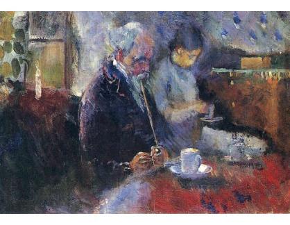 VEM13-04 Edvard Munch - U stolku s kávou
