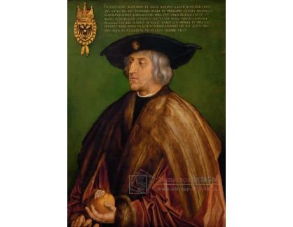 VR12-25 Albrecht Dürer - Portrét cisaře Maximiliana