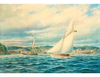VL332 Jacob Hagg - U přístavu