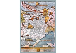 Obraz mapa VM 05