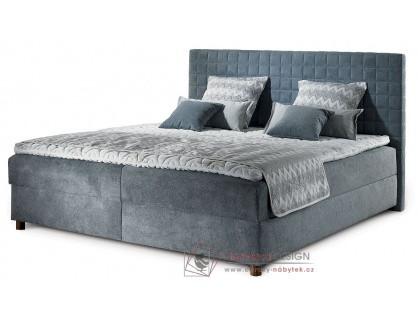 BELO, čalouněná postel - boxspring 160x200cm
