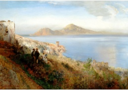 D-9632 Oswald Achenbach - Malíř na kopcích Procida naproti Ischii