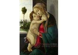 A-82 Sandro Botticelli - Madonna s dítětem