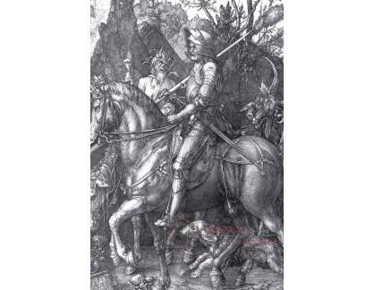 R12-152 Albrecht Dürer - Rytíř, smrt a ďábel