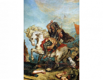 VEF 51 Eugene Ferdinand Victor Delacroix - Attila a jeho hordy