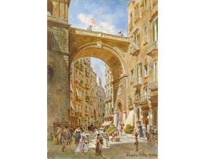 VALT 45 Franz Alt - Kamenný most v Neapoli