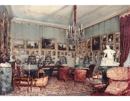VALT 96 Rudolf von Alt - Interier v paláci Windischgrätz ve Vídni