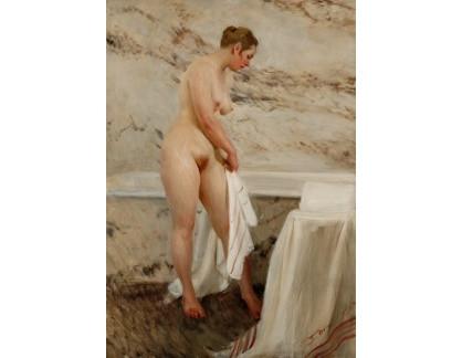 Slavné obrazy I-DDSO-26 Anders Zorn - U vany