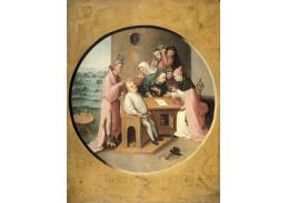 A-948 Hieronymus Bosch - Řezání balvanu