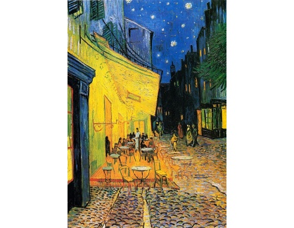 R2-4 Vincent van Gogh - Terasa kavárny v noci