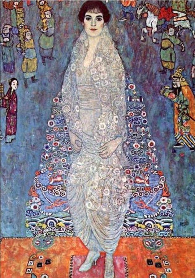 R3-1 Gustav Klimt - Portrét baronky Elisabeth