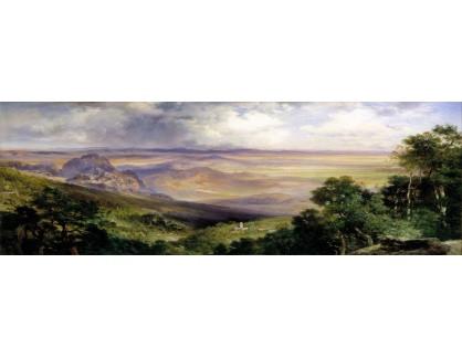VP433 Thomas Moran - Údolí v Cuernavaca
