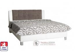 AMERIKA, čalouněná postel 160x200cm, výběr provedení