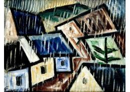 VCM 857 Josef Čapek - Krajina v dešti