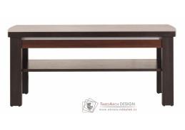 FORREST, konferenční stolek FR 11 ořech tmavý / dub miláno