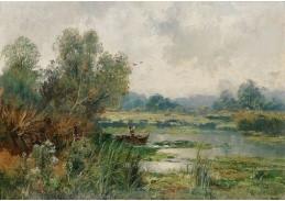 DDSO-1473 Adolf Kaufmann - Rybář v Au
