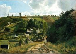 SO XVI-339 Camille Pissarro - Jallais Hill v Pontoise