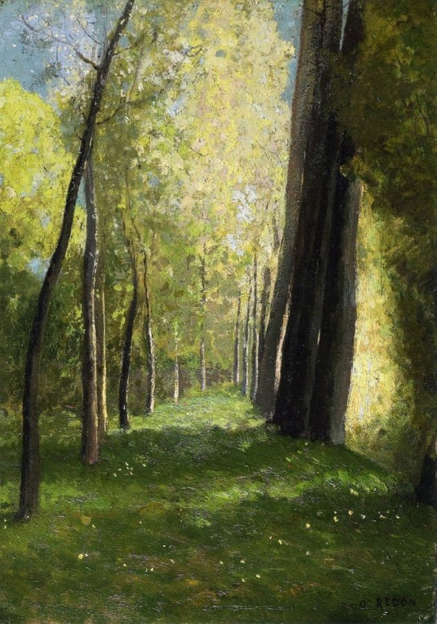 VOR 104 Odilon Redon - Alej stromů