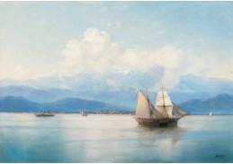 DDSO-713 Ivan Konstantinovič Aivazovskij - Lodě u pobřeží