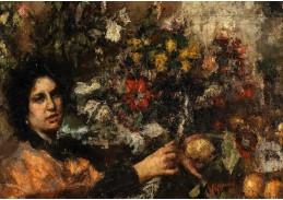 DDSO-1519 Antonio Mancini - Květinářka
