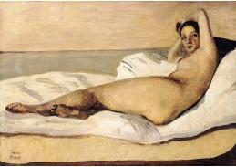 Krásné obrazy IV-100 Jean-Baptiste Camille Corot - Marietta
