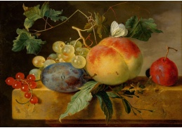 A-1336 Jan van Huijsum - Zátiší s ovocem