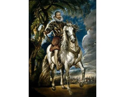 VRU98 Peter Paul Rubens - Jezdecký portrét vévody Lerma