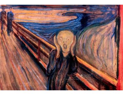 VEM13-58 Edvard Munch - Výkřik