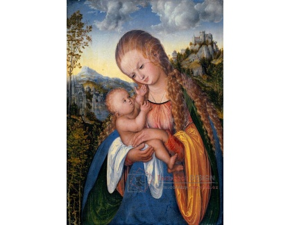 VlCR-42 Lucas Cranach - Madonna a dítě