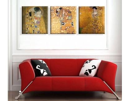 Obrazový set 3D Gustav Klimt 3
