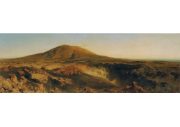 D-8438 Eduard Peithner von Lichtenfels - Vrchol sopky Etna