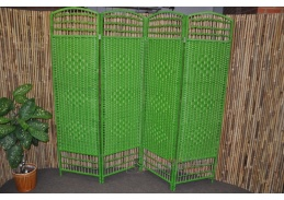 Paravan provázkový barva zelená