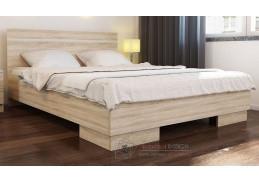 VISTA, postel 160x200cm, dub sonoma