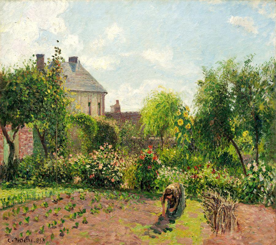 VCP-354 Camille Pissarro - Malířova zahrada u Eragny