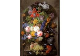 VRAK-119 Johann Baptist Drechsler - Květinové zátiší