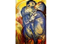 Obraz VFM 21 Franz Marc - Věž z modrých koní