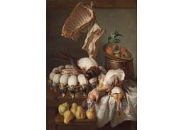 D-7730 Alexandre-Francois Desportes - Zátiší s masem a ovocem