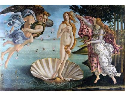 R17-77 Sandro Botticelli - Zrození Venuše