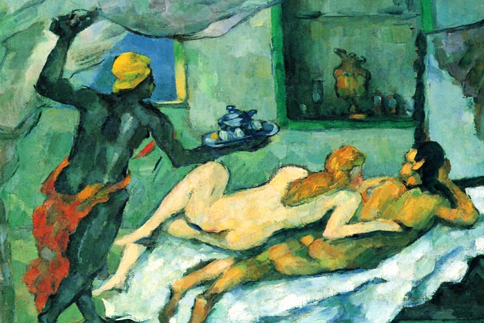 R10-13 Paul Cézanne - Odpoledne v Neapoli s černým sluhou