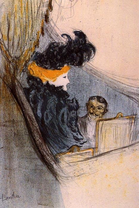 R7-111 Henri Toulose-Lautrec - Jarní idyla