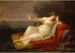 DDSO-1510 Angelica Kauffmann - Ariadne opuštěná Theseusem