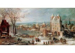 A-1239 Jan Brueghel a Joos de Momper - Zima