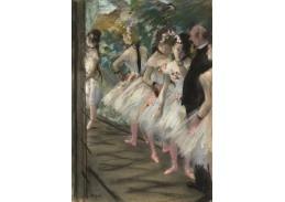 A-157 Edgar Degas - Balet