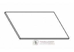 Kuchyňská pracovní deska 80 cm šedý asfalt