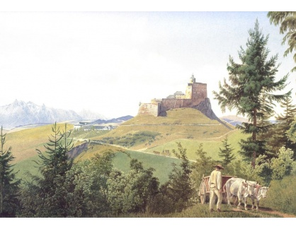 VALT 24 Jacob Alt - Pohled na Martinsberg v Dolním Rakousku
